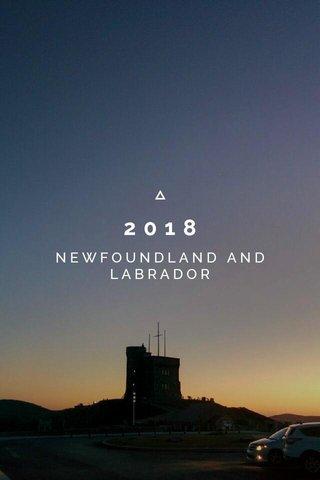 2018 NEWFOUNDLAND AND LABRADOR