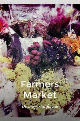 Farmers Market Downey, California