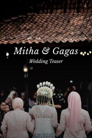 Mitha & Gagas Wedding Teaser