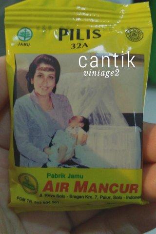 cantik vintage2