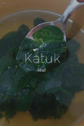 Katuk leaf