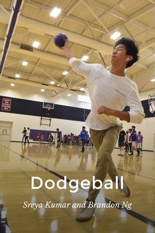 Dodgeball Sreya Kumar and Brandon Ng