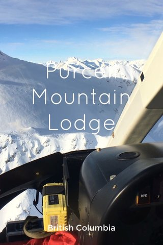 Purcell Mountain Lodge British Columbia