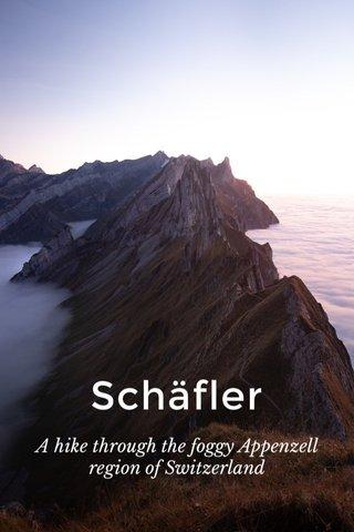 Schäfler A hike through the foggy Appenzell region of Switzerland