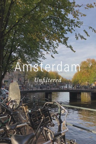 Amsterdam Unfiltered