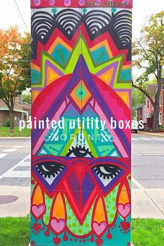 painted utility boxes TORONTO