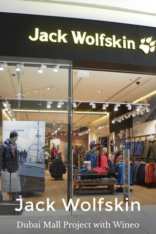Jack Wolfskin Dubai Mall Project with Wineo