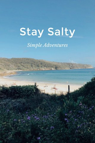 Stay Salty Simple Adventures