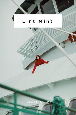 Lint Mint Seattle, Wa