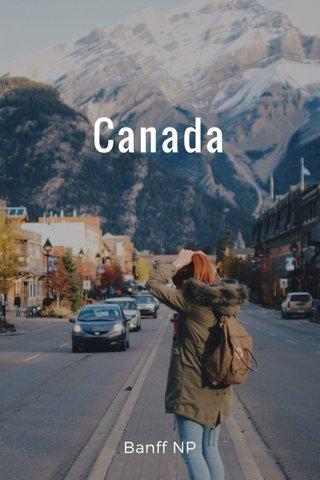 Canada Banff NP