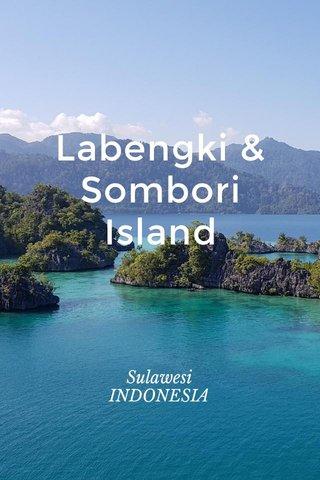 Labengki & Sombori Island Sulawesi INDONESIA