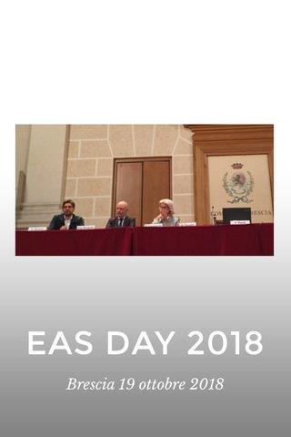 EAS DAY 2018 Brescia 19 ottobre 2018