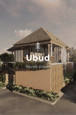 Ubud Houses project