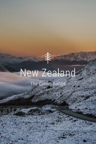 New Zealand The Crown Range