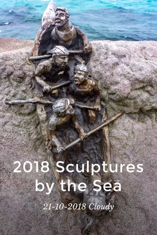 2018 Sculptures by the Sea 21-10-2018 Cloudy