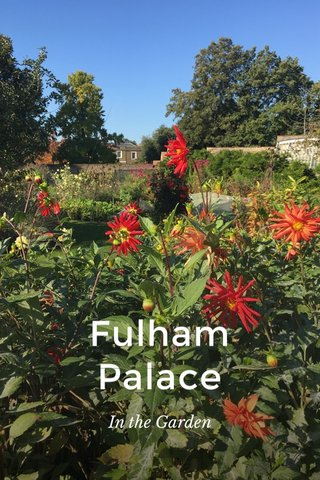 Fulham Palace In the Garden