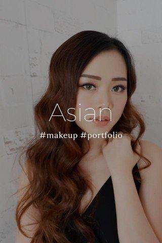 Asian #makeup #portfolio