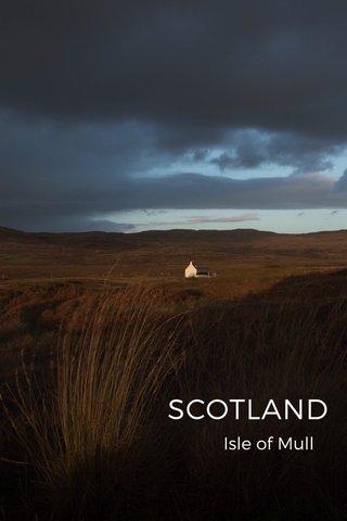 SCOTLAND Isle of Mull