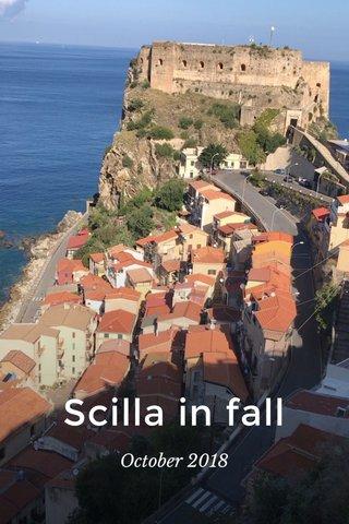 Scilla in fall October 2018