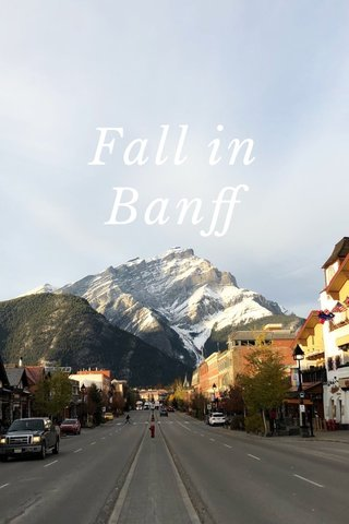 Fall in Banff