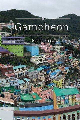 Gamcheon Busan, Korea ZackMy🇲🇾