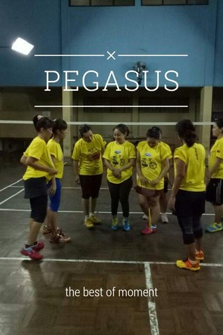 PEGASUS the best of moment