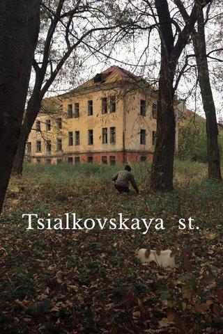 Tsialkovskaya st.