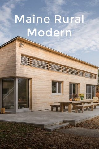 Maine Rural Modern