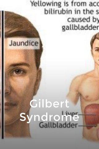 Gilbert Syndrome