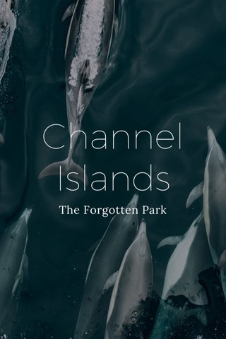 Channel Islands The Forgotten Park