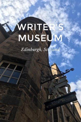 WRITER'S MUSEUM Edinburgh, Scotland