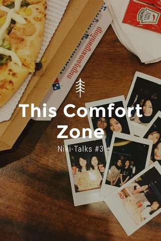 This Comfort Zone Niki-Talks #3