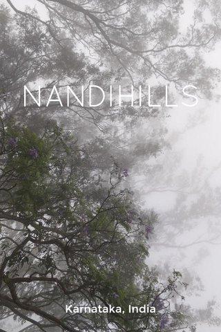 NANDIHILLS Karnataka, India