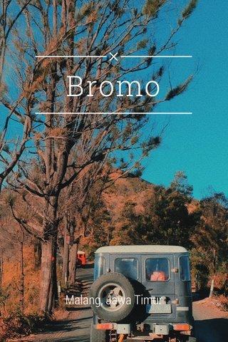 Bromo Malang, Jawa Timur