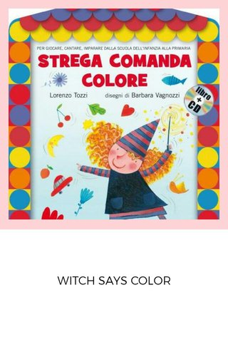 WITCH SAYS COLOR