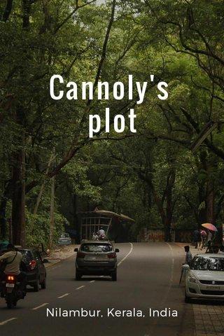 Cannoly's plot Nilambur, Kerala, India