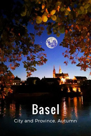 Basel City and Province, Autumn 2018