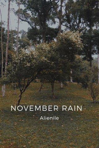 NOVEMBER RAIN Alienile
