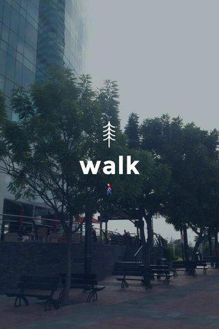 walk 🚶♀️