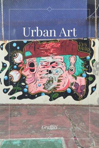 Urban Art Graffiti