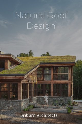 Natural Roof Design Briburn Architects