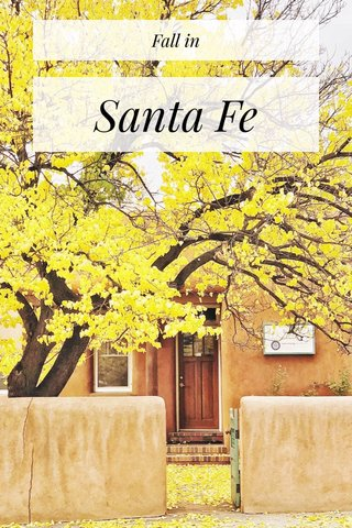 Santa Fe Fall in