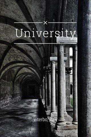 University Viterbo, Italy