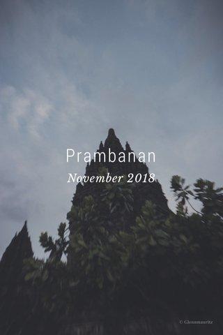 Prambanan November 2018
