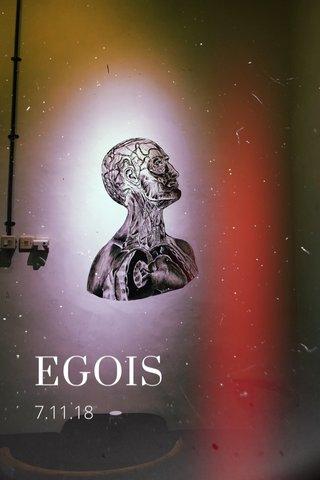 EGOIS 7.11.18