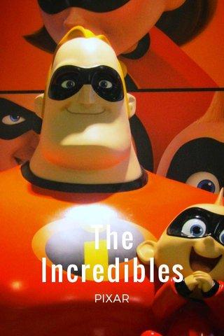 The Incredibles PIXAR