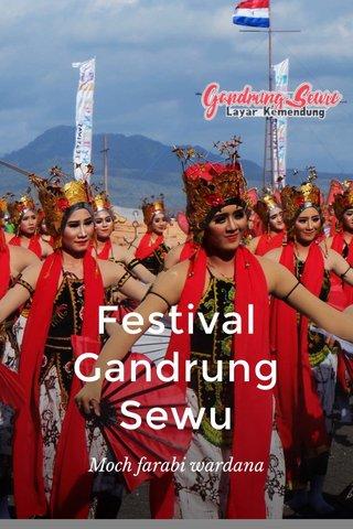 Festival Gandrung Sewu Moch farabi wardana