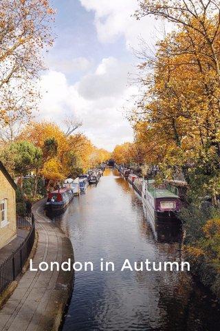 London in Autumn