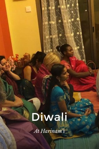 Diwali At Harinam's