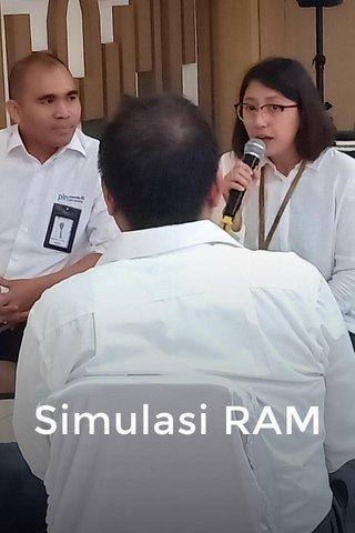 Simulasi RAM